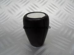 Pommeau de vitesse en cuir noir  Austin Mini