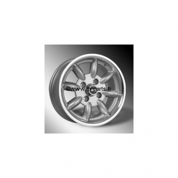 Jante Minilight grise 6 X10. Austin Mini.