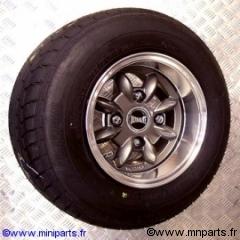 Pack jantes et pneus 6''/10'' ultralite Anthracite Austin Mini