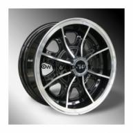 Jante 5X12 Style Dunlop. Austin Mini.