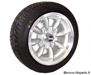 Pack 4 jantes/ pneus 6''/13'' silver Ultralite. Austin Mini