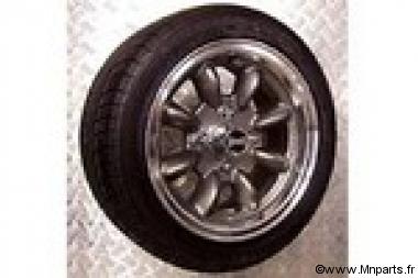 Pack de jantes/ pneus 6''/13'' Utralite Anthracite  Austin Mini
