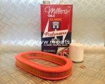 Pack Vidange Millers 20W50 + filtre à air SPI