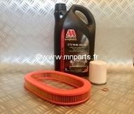 Pack Vidange Millers 20W50 n°2 + filtre à air SPI