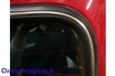 Joint de lunette arrière. Austin Mini 1967-2000