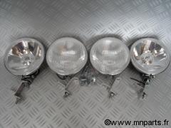 Rampe de phares inox Austin Mini