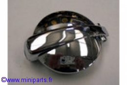 Bouchon Monza acier chromé. Austin Mini