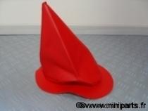 Soufflet de vitesse rouge. Austin Mini