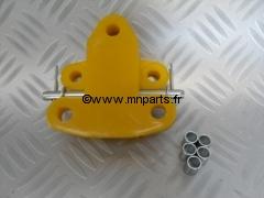 Silent bloc polyuréthane avant berceau avant support moteur. Austin Mini