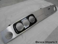Tableau de bord finition aluminium brossé Austin Mini
