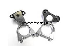 Kit d'installation silencieux ou ligne centrale RC40 ou Maniflow. Austin Mini