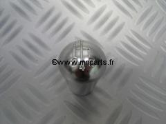Pommeau aluminium gravé. Austin Mini