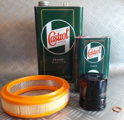 Pack Castrol Luxe 5l+1l. Austin Mini