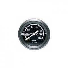 Jauge de température d'eau capilaire TIM 52mm.