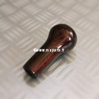 Pommeau de levier de vitesse Bois/Ronde de Noyer. Austin Mini