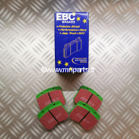 Plaquettes de frein EBC Green Stuff 7