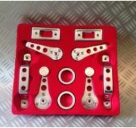 Kit 10 pièces intérieures aluminium