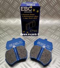 Plaquettes de frein EBC Blue Stuff