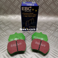 Plaquettes de frein EBC Green Stuff 8,4