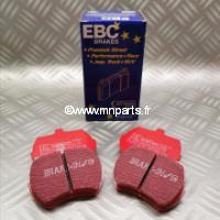 Plaquettes de frein EBC Red Stuff 8,4