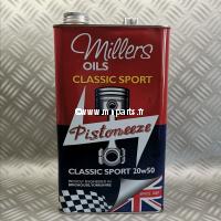 Millers - Classic Sport 20w50 (bidon métal 5l)