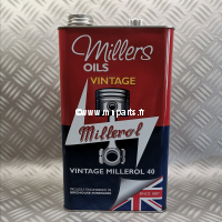 Millers - Vintage Millerol 40 (bidon métal 5l)