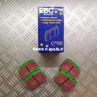 Plaquettes de frein EBC Green Stuff 7,5
