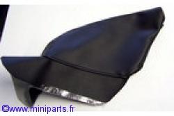 Soufflet de frein à main noir. Austin Mini