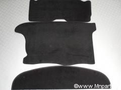Pack moquette arrière  Austin Mini