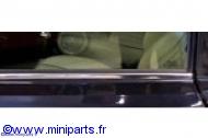 Baguette chromée, lèche vitre extérieur côté Droit(passager) Austin Mini